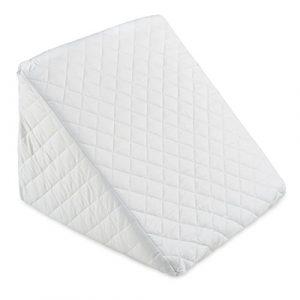 Cojín con forma de cuña para cama y sofá