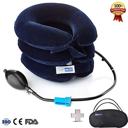 Dispositivo de tracción cervical del cuello para el dolor de cabeza y hombros